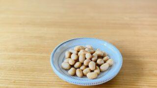 カルディのダイズちゃんと豆皿